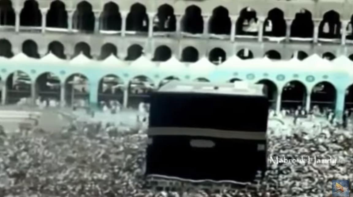 Scenes of the 1965 Hajj rituals in color